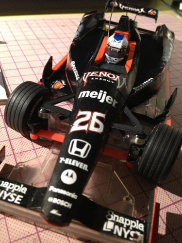 VENOM IndyCar DW12 Paper craft R/C Body with Marco Andretti