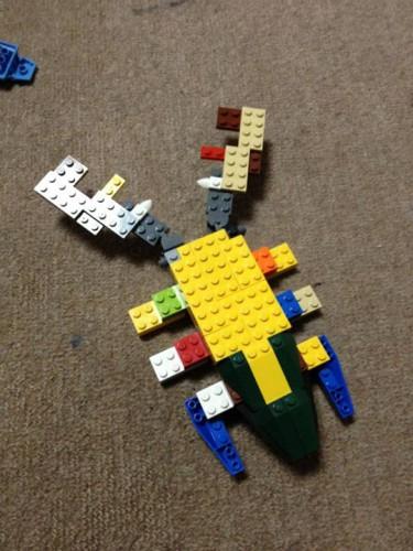 LEGOクワガタ