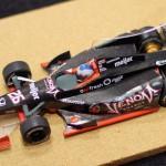 Indycar DW12 papaer craft