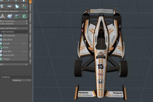 SoftBank Miller Team Rahal Letterman Lanigan Racing (架空マシン)