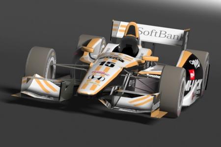 IndyCar SoftBank Rahal Letterman Lanigan Racing : Fake