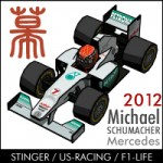 2012 Michael Schumacher icon