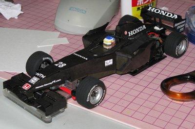 mini-z F1 papercraft RA107