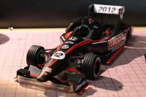 IndyCar DW12 papercraft R/C body