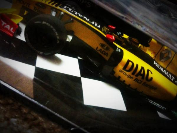F1 Kubica RENAULT