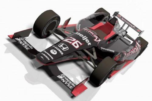 VENOM DW12 Indycar