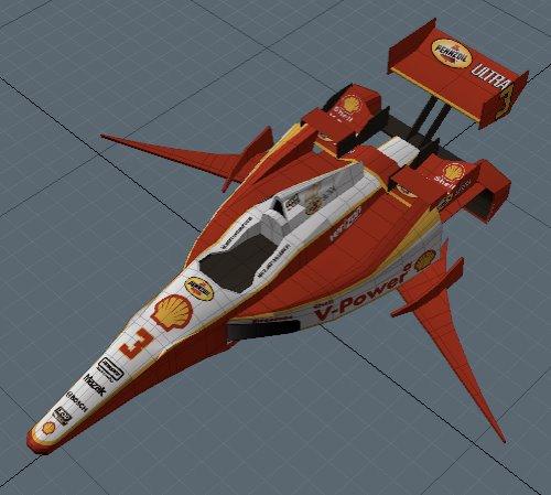 IndyCar DW12 Fighter