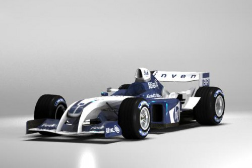 3DCG Williams FW26