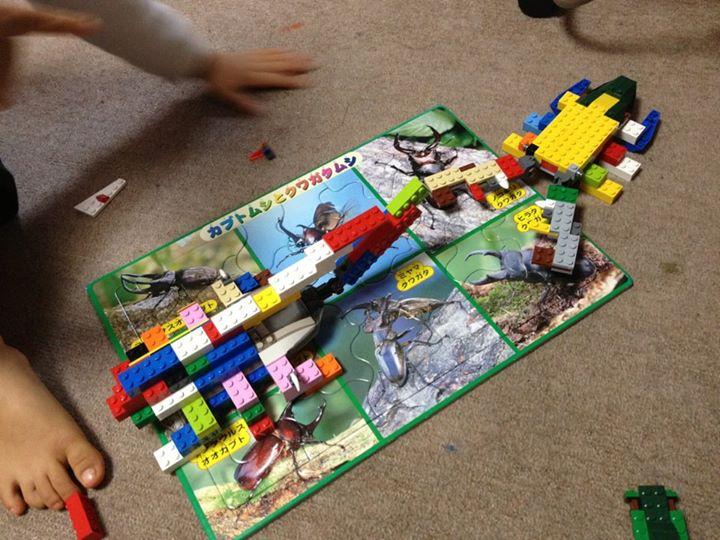 LEGOヘラクレスオオカブト