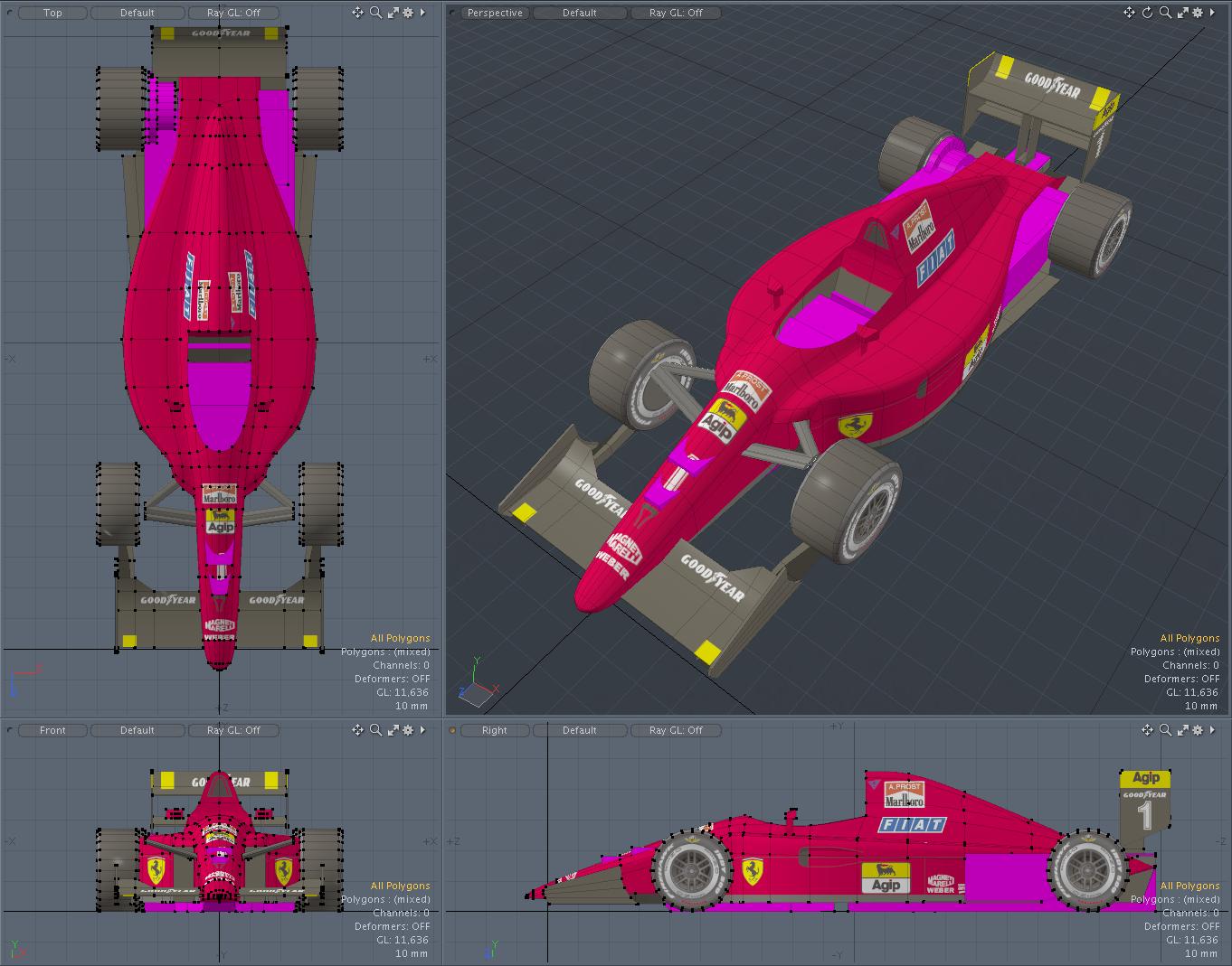 Ferrari641/2 for miniz