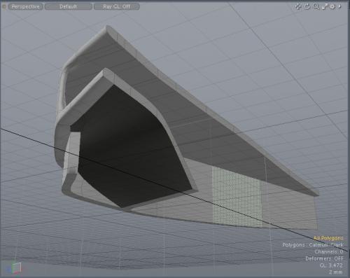 3Dプリント用データの厚みづけ