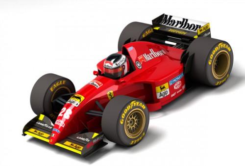 GP Car Story Ferrari 412T2  編集&イラスト裏バナシ
