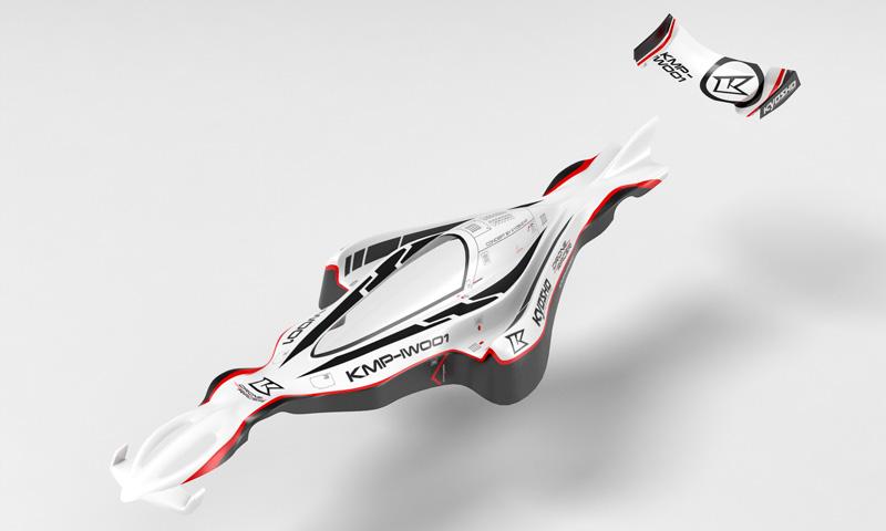 DRONE RACER G-ZERO BODY