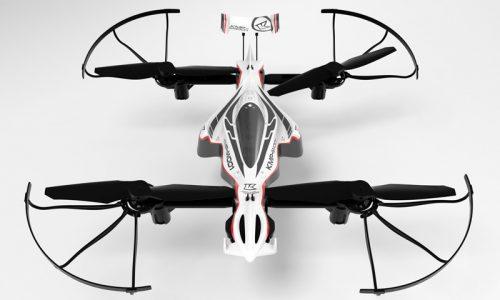 DRONE RACER G-ZERO, ZEPHYR ボディデザイン