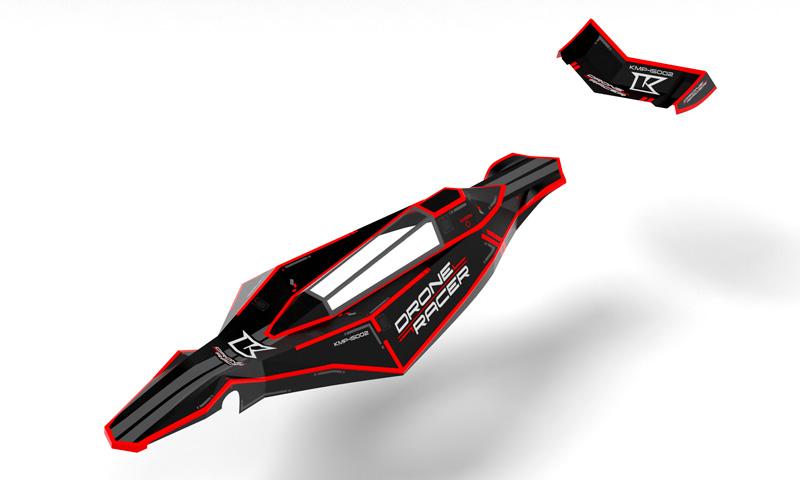 DRONE RACER ZEPHYR BODY