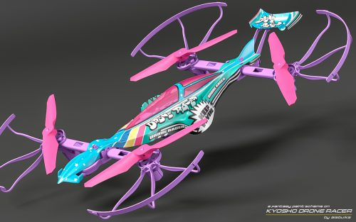 DRONE RACER G-ZERO 追加カラーリングデザイン