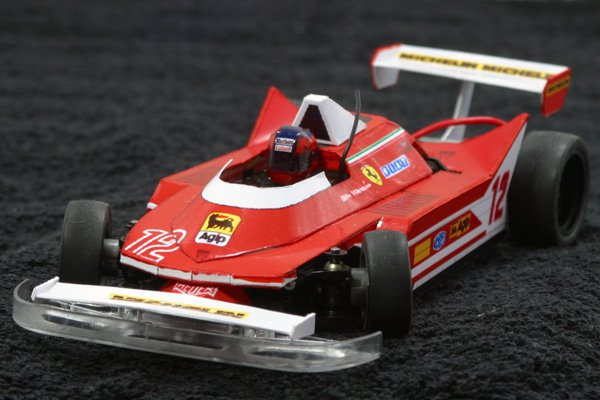 Ferrari 312T4 Mini-z MR-03 Paper craft