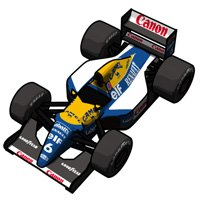 Williams FW14B #6