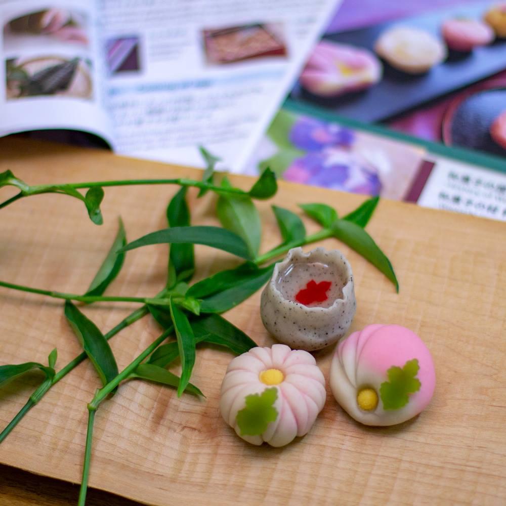 和菓子で季節を感じよう! 練り切り教室と、本格お抹茶体験