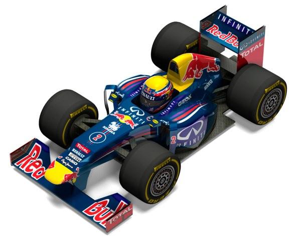 F1 2013 RedBull