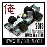 Mercedes W04 F1 2013 Luis