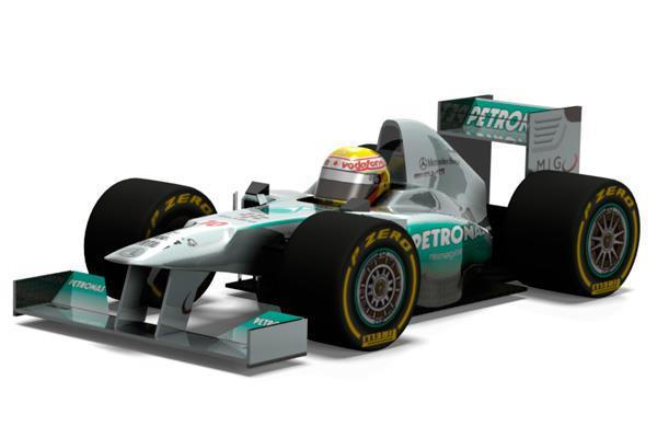 Mercedes W04 F1 2013