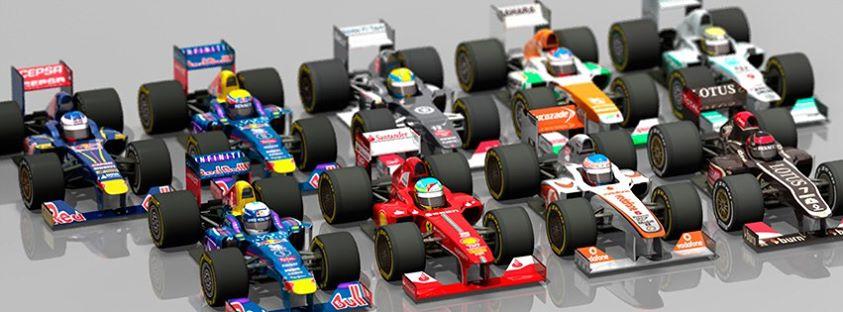 F1 2013 launch