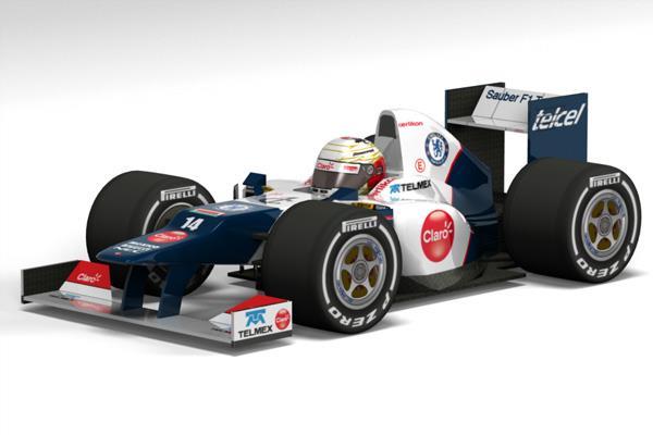 Sauber C31 F1 2012