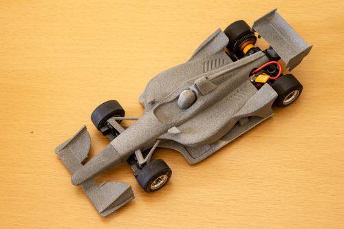 ミニッツF1 インディカー ロードコース 試作