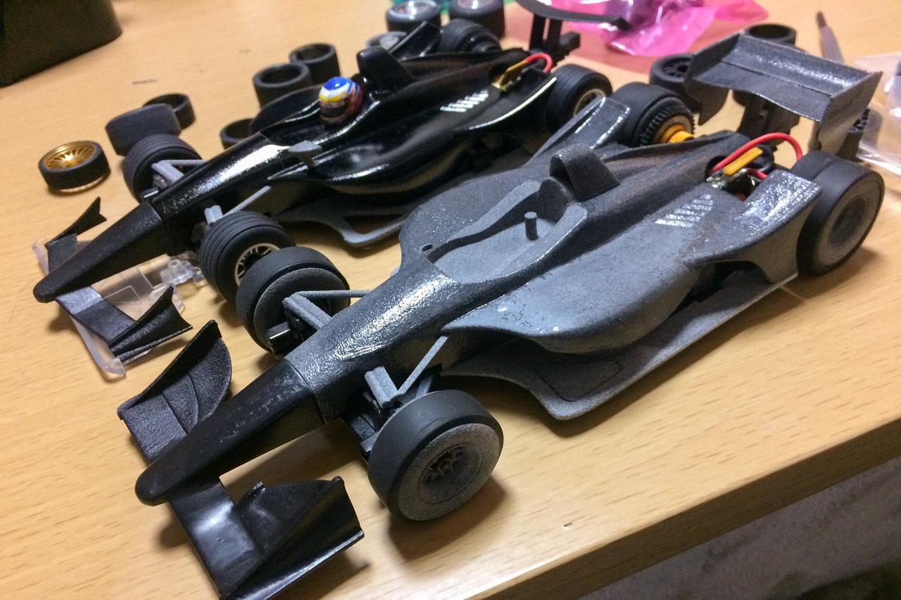 3D Printed Indycar body for miniz f1