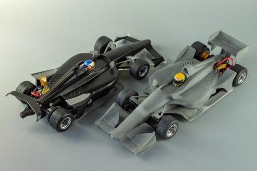 ミニッツF1用Indycarボディ最終版