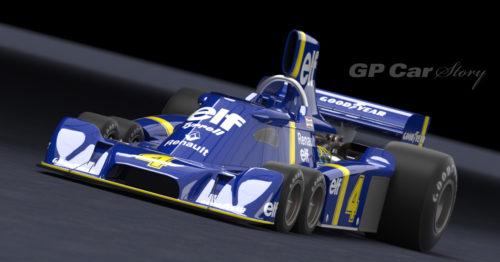 GP Car Story Tyrrell P34