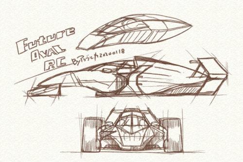 memo of future open wheel car