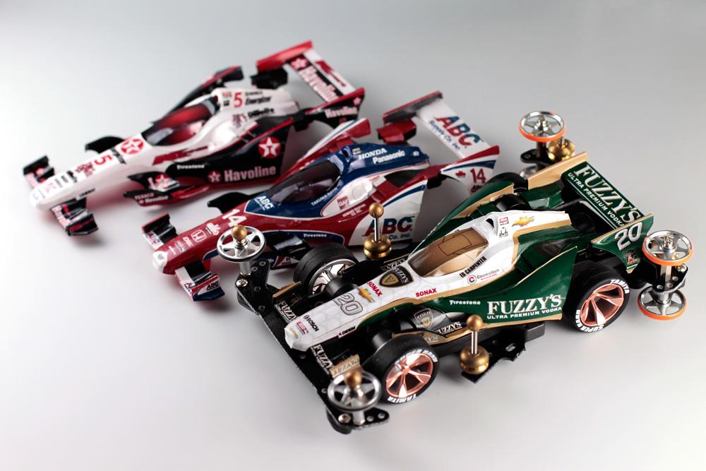 Indycar-mini4WD
