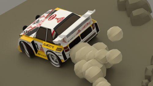Audi Sport Quattro S1-E2 WRC