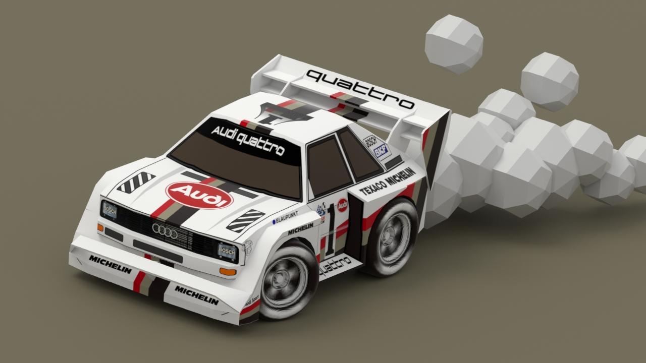 Audi Sport Quattro S1 pikes peak 続き