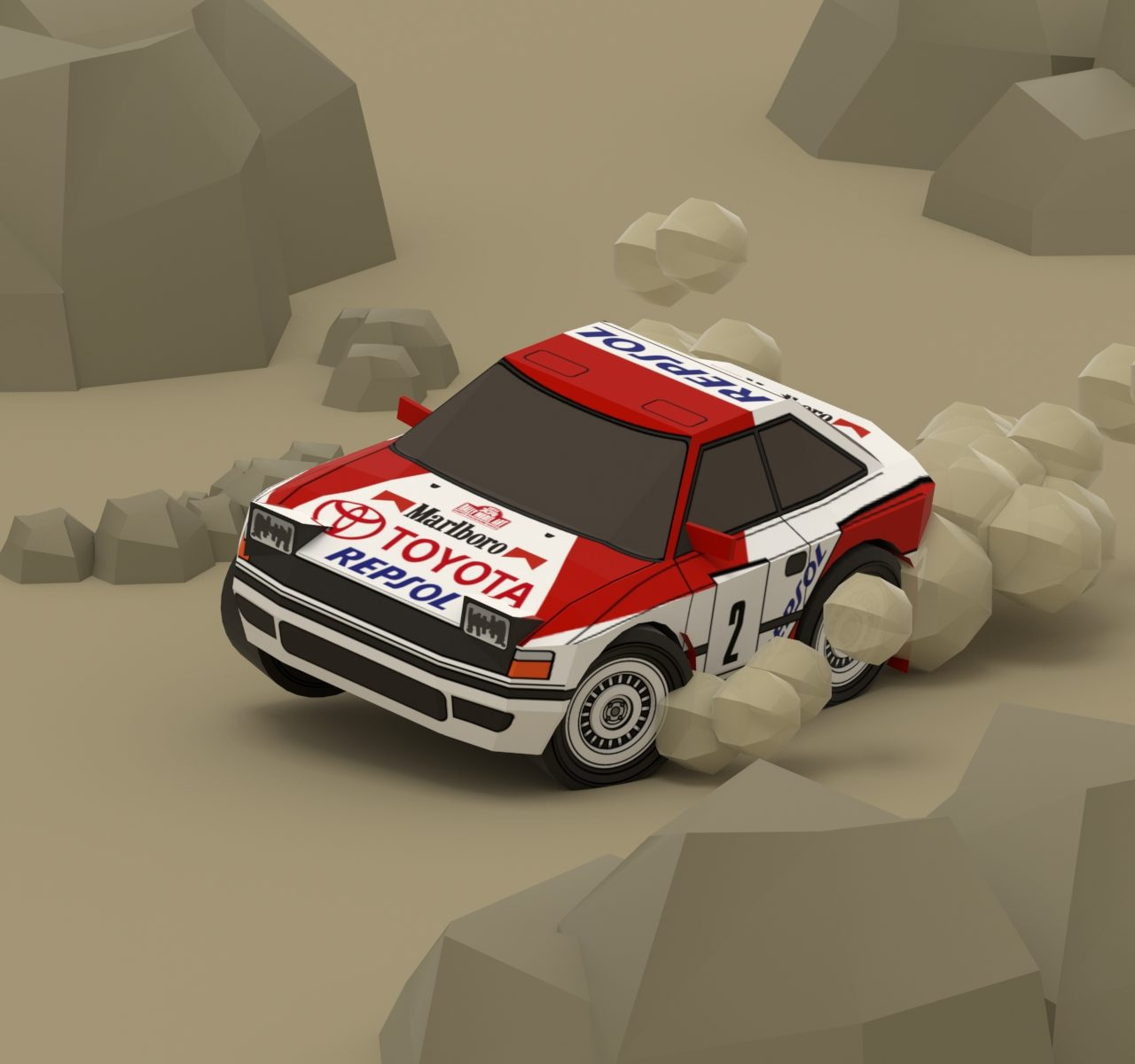 TOYOTA Celica ST165 WRC