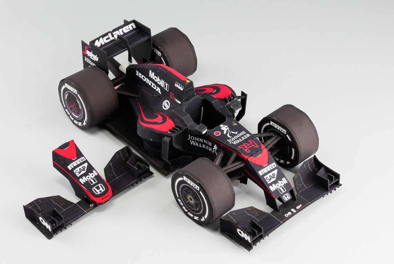 Mclaren Honda MP4-30 Paper Craft