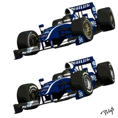 2022年用F1タイヤ、見かけは上々