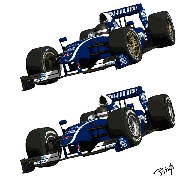 F1扁平タイヤ比較